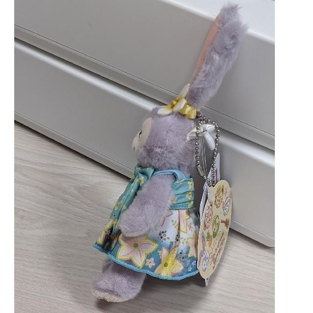 ステラ・ルー(ステラルー)のダッフィーサニーファン2021ステラルー ぬいぐるみバッジ ぬいば 販売終了 エンタメ/ホビーのおもちゃ/ぬいぐるみ(ぬいぐるみ)の商品写真