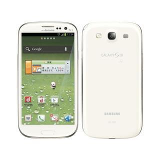 SAMSUNG - 新品未使用◆送料無料◆Samsung GALAXY SⅢ SC-06D ホワイト