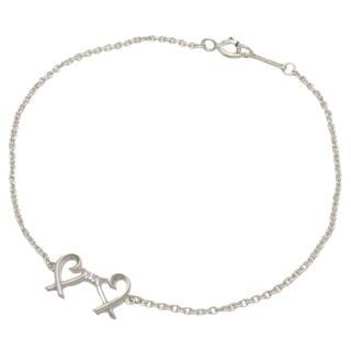 ティファニー(Tiffany & Co.)のティファニー ダブル ラビング ハート ブレスレット 40800074121(ブレスレット/バングル)