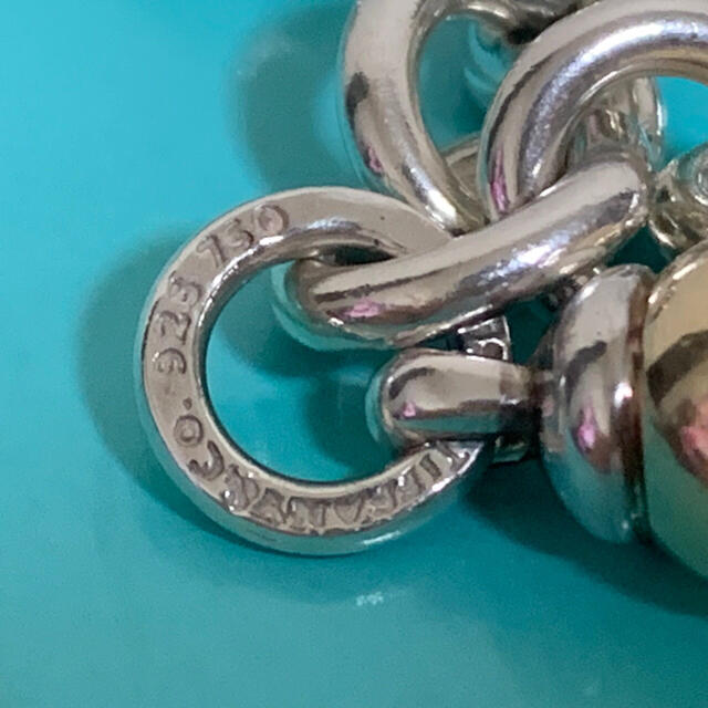 Tiffany & Co.(ティファニー)の希少 レア ティファニー ブレスレット ボール チェーン ヴィンテージ 750 レディースのアクセサリー(ブレスレット/バングル)の商品写真
