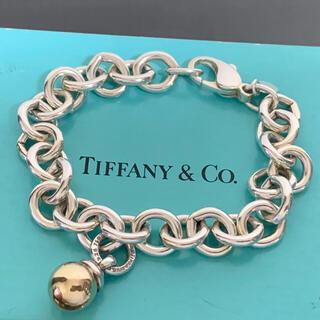 ティファニー(Tiffany & Co.)の希少 レア ティファニー ブレスレット ボール チェーン ヴィンテージ 750(ブレスレット/バングル)