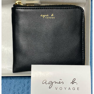 agnes b. - アニエスベー agnes.b コインケース 財布 札入れ カードケース 黒 新品