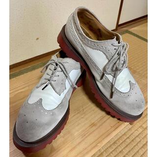 Dr.Martens ドクターマーチン ウィングチップ スウェード 革靴