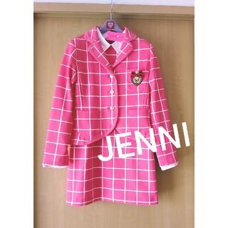 ジェニィ(JENNI)の新品♪JENNI★ピンクセットアップワンピーススーツ150(ワンピース)