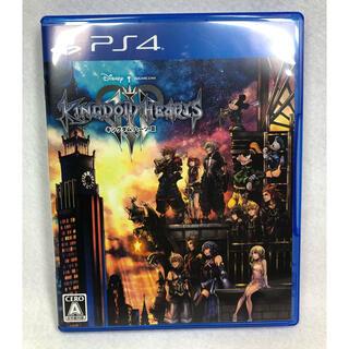 プレイステーション4(PlayStation4)の【未使用に近い】ps4 キングダムハーツ3(家庭用ゲームソフト)
