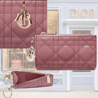 Christian Dior - クーポン期間値下げ LADY DIOR ジップ カードホルダー カナージュ
