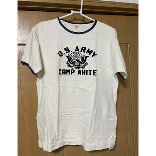 トウヨウエンタープライズ(東洋エンタープライズ)のウエアハウスTシャツ リンガー CAMP WHITE 4059(Tシャツ/カットソー(半袖/袖なし))