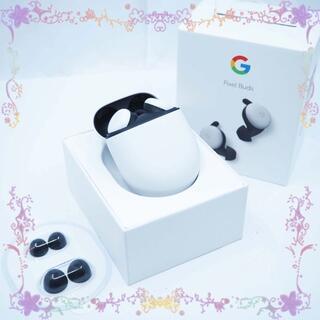グーグル(Google)のジャンク Google Pixel Buds ホワイト(ヘッドフォン/イヤフォン)