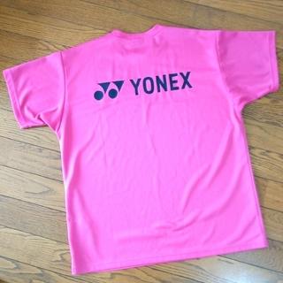 YONEX - 美品 YONEX Tシャツ ユニMサイズ ヨネックスTシャツ ピンク