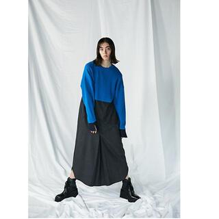 エンフォルド(ENFOLD)のエンフォルド  Firm Wool Combination ドレス ワンピース(ロングワンピース/マキシワンピース)
