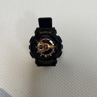 ベビージー(Baby-G)のBaby-G Black × Gold Series GA-110GB-1AJF(腕時計)