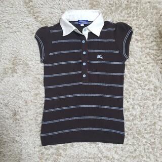 バーバリー(BURBERRY)のバーバリーニットシャツ ポロシャツ(ポロシャツ)