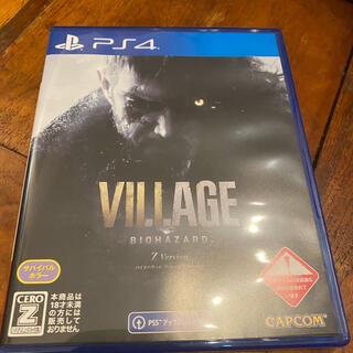 PlayStation4 - バイオハザード 8 ヴィレッジ コード未使用