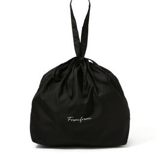 フランフラン(Francfranc)のレインバッグカバー ロゴ(エコバッグ)