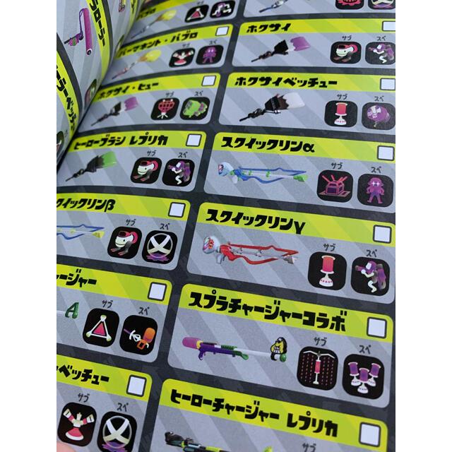 Nintendo Switch(ニンテンドースイッチ)のスプラトゥーン2 ゲームソフト+イカすデータブック+ステッカー エンタメ/ホビーのゲームソフト/ゲーム機本体(家庭用ゲームソフト)の商品写真