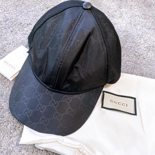 Gucci(グッチ)のgucci★ナイロンベースボールキャップ メンズの帽子(キャップ)の商品写真