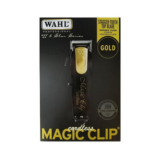 Wahl Limited Edition Black & Gold バリカン
