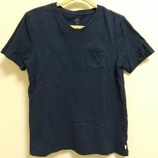 ギャップキッズ(GAP Kids)のギャップキッズ  L 140 Tシャツ Vネック紺 中古(Tシャツ/カットソー)
