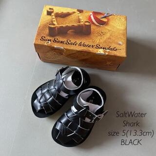 コドモビームス(こども ビームス)の<新品未使用>SALTWATER サンダル Shark 5(13.3cm)(サンダル)