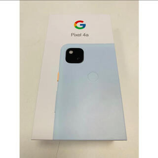 Google Pixel - Google pixel4a 128GB SIMフリー