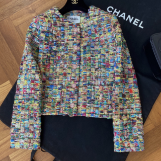 シャネル(CHANEL)の21SS最新作◆Chanel◆ジャケット コットン ツイード アウター(カーディガン)