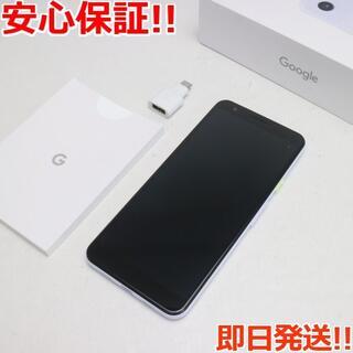 グーグルピクセル(Google Pixel)の美品 Google Pixel 3a パープリッシュ (スマートフォン本体)