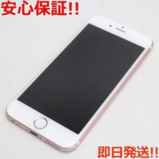 アイフォーン(iPhone)の美品 SIMフリー iPhone6S 64GB ローズゴールド (スマートフォン本体)