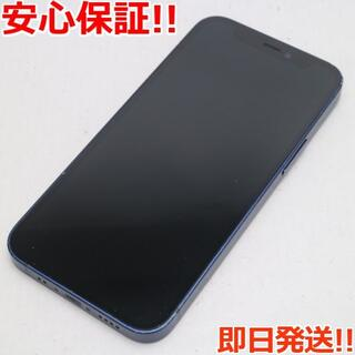 アイフォーン(iPhone)の美品 SIMフリー iPhone12 mini 256GB  ブルー(スマートフォン本体)