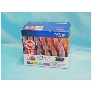brother - brother ブラザー 純正インク 「LC12-4PK」 4色入り