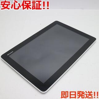 アンドロイド(ANDROID)の美品 dtab 01 DoCoMo Tablet シルバー (タブレット)