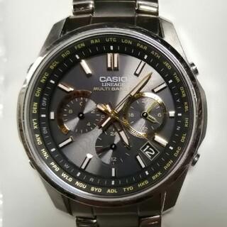 カシオ(CASIO)のCASIO LINEAGE LIW-M610TDS チタン電波ソーラークロノ(腕時計(アナログ))