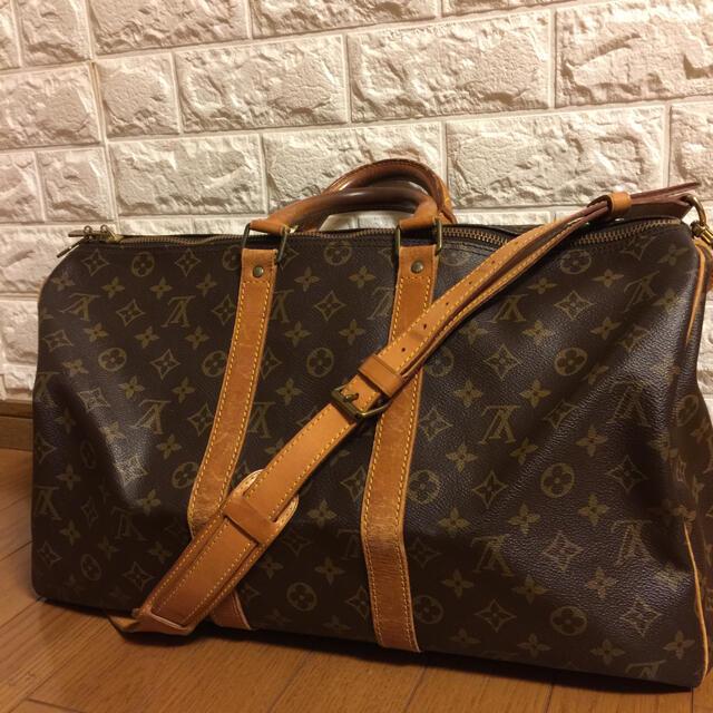 LOUIS VUITTON(ルイヴィトン)のLOUIS VUITTON ルイヴィトン LV キーポル 45 レディースのバッグ(ボストンバッグ)の商品写真