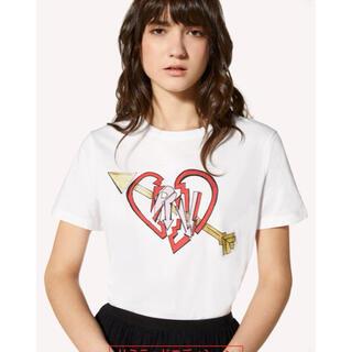レッドヴァレンティノ(RED VALENTINO)のRED VALENTINO☆Love and Rock Design Tシャツ(Tシャツ(半袖/袖なし))