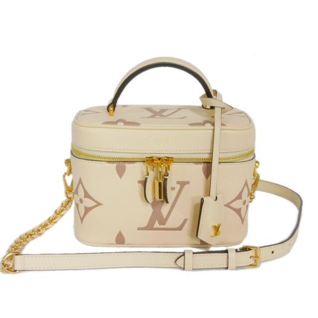LOUIS VUITTON(ルイヴィトン)のルイヴィトン ヴァニティ PM モノグラム アンプラント クレーム ボワドローズ レディースのバッグ(ハンドバッグ)の商品写真