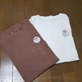 coen - コーエン U.S.A. コットンTシャツ2枚組