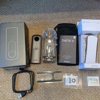 リコー(RICOH)のピチョパ様専用RICOH THETA V 使用回数1回 超美品 リコー シータV(ビデオカメラ)
