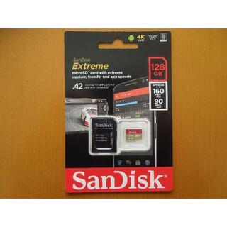 SanDisk - 128GB SanDisk マイクロSDXCカード Extreme 1枚