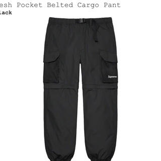 シュプリーム(Supreme)のSupreme Mesh Pocket Belted Cargo Pant (ワークパンツ/カーゴパンツ)