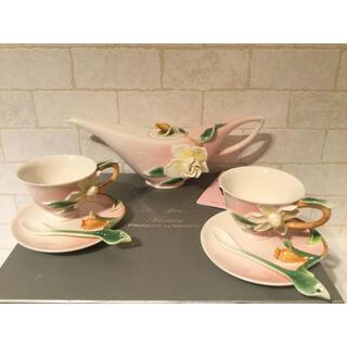 マイセン(MEISSEN)の新品 華麗なる花コレクション マイセン ティーポット カップ ソーサー スプーン(食器)