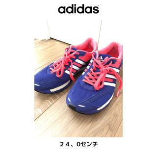 アディダス(adidas)のadidas ランニングシューズ アディゼロ(シューズ)