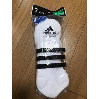 アディダス(adidas)の(新品未使用)アディダス 靴下 27〜29㎝ 3足セット(ソックス)