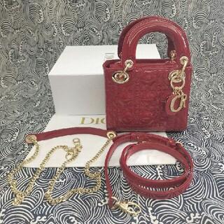 Christian Dior - Dior レディディオール バッグ カナージュ 2WAY