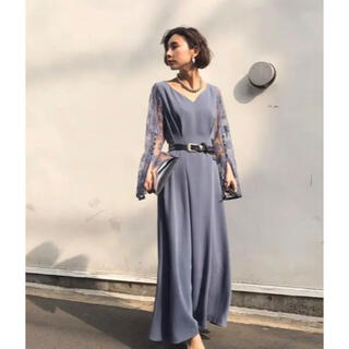 Ameri VINTAGE - アメリヴィンテージ LACE SLEEVE REFINED DRESS
