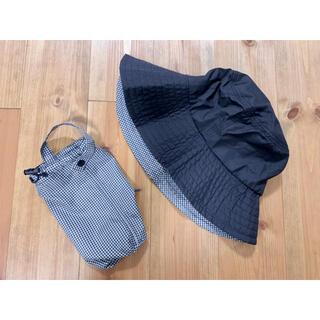 ムジルシリョウヒン(MUJI (無印良品))の無印良品 MUJI ポータブル ハット ギンガムチェック 帽子(ハット)