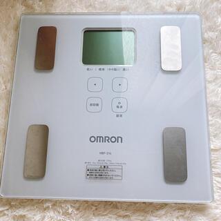オムロン(OMRON)のオムロン HBF-214 体重計(体重計/体脂肪計)