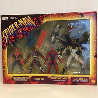 マーベル(MARVEL)のスパイダーマン&エイリアン カーネイジ フィギュア(4体セット)(アメコミ)