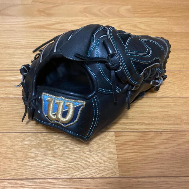 wilson(ウィルソン)のウィルソン 硬式グローブ 投手用 スポーツ/アウトドアの野球(グローブ)の商品写真