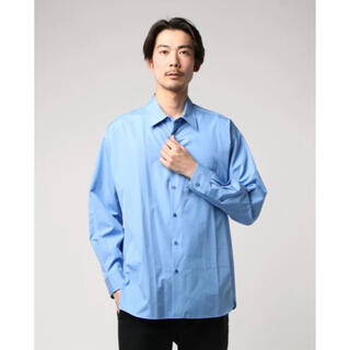 ALLEGE - ALLEGE アレッジ Standard Shirt サックスブルー