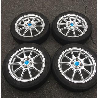 DUNLOP - 165/55/R15、軽自動車用タイヤ、ホイール、4本セット