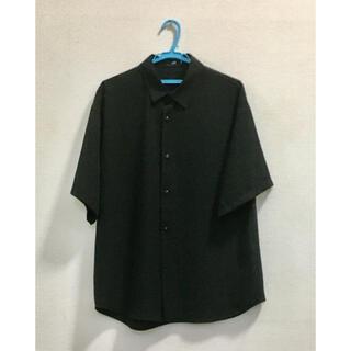 ハレ(HARE)のHARE トロミシャツ ブラック(シャツ)